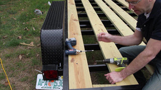 Removing Excess Trailer Boards