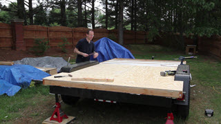 Insulating and Sheathing the Subfloor