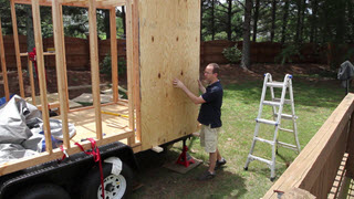 Wall Sheathing - Part 1