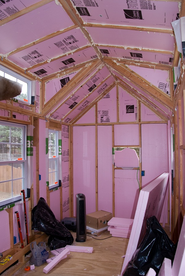 XPS Insulation in a Tiny House