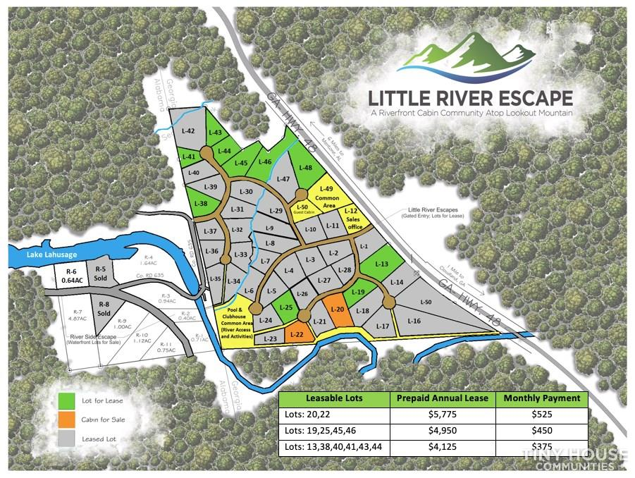 Little River Escape Tiny House Community