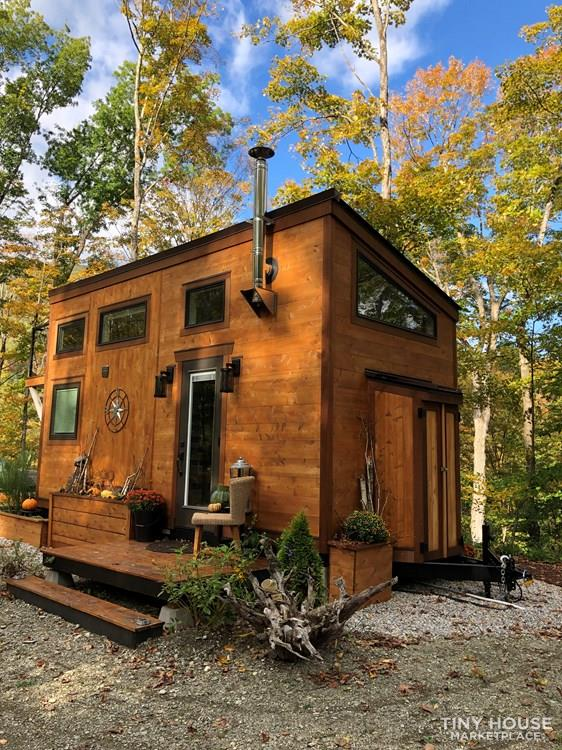 """The Hemingway"" Luxury Tiny Home 1"