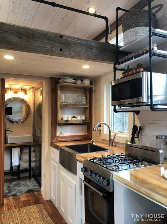 """The Hemingway"" Luxury Tiny Home 9"
