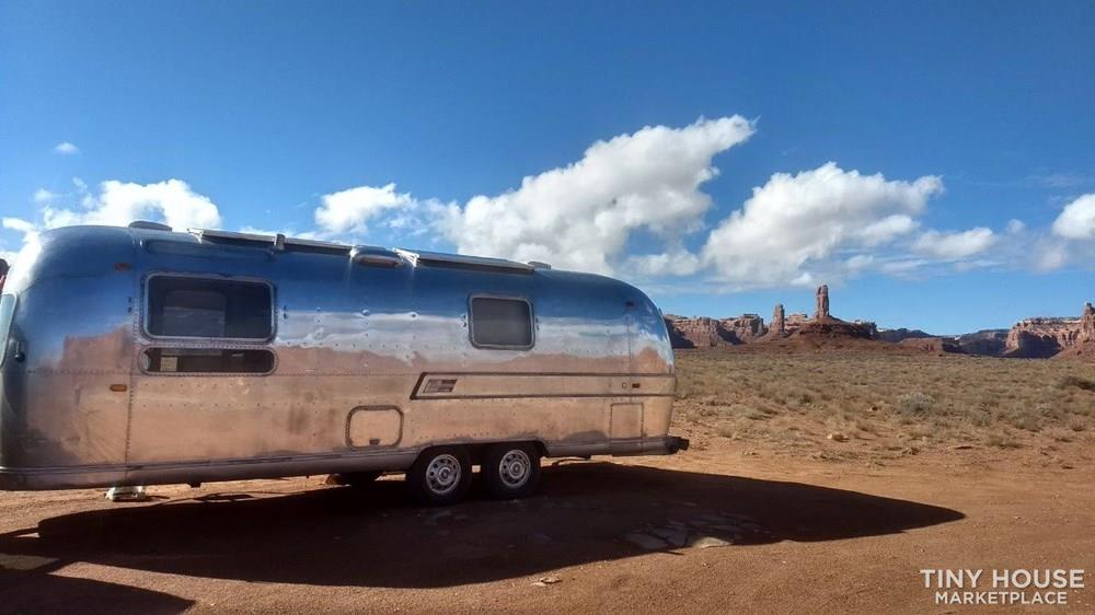 1971 Airstream Overlander Complete Off Grid Restoration