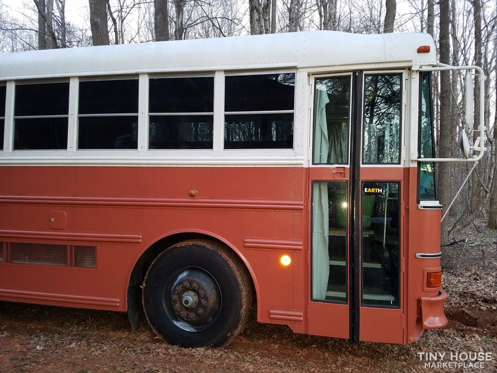 Tiny House for Sale - 1998 converted Thomas school bus