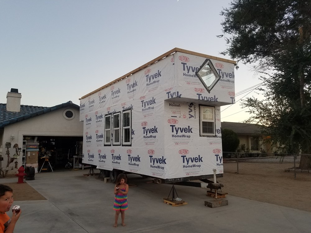 Tiny house for sale 24 x 8 foot tiny house with extended for 24 ft tiny house