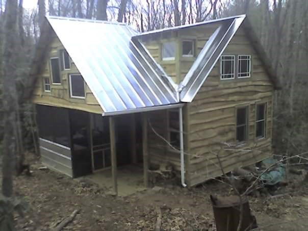 Tiny House for Sale - Adirondack style tiny house on 4 32