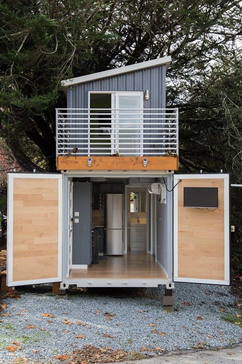 Tiny House For Sale - Boxed Haus - Shipping Container House Hybrid