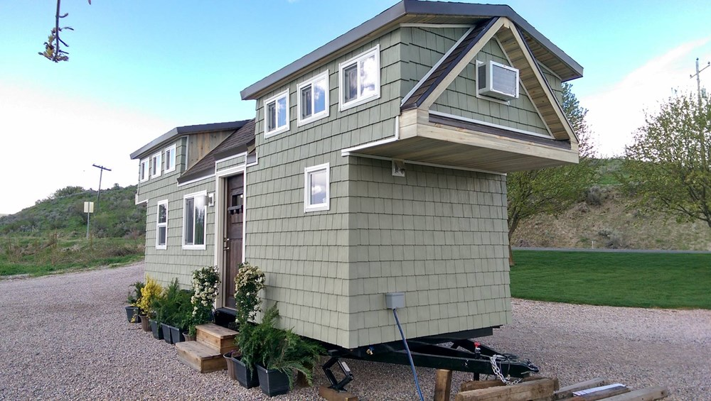 Tiny house for sale custom 300 sq ft incl lofts 300 sq foot house