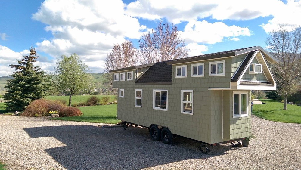 Tiny house for sale custom 300 sq ft incl lofts for 300 square foot house
