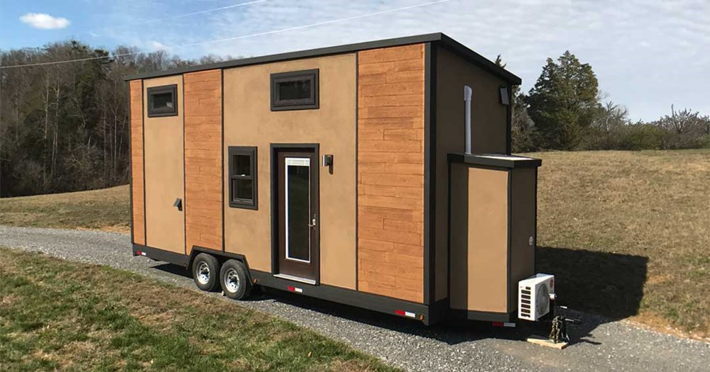 Tiny house for sale 24 ft all composite amsterdam for 24 ft tiny house
