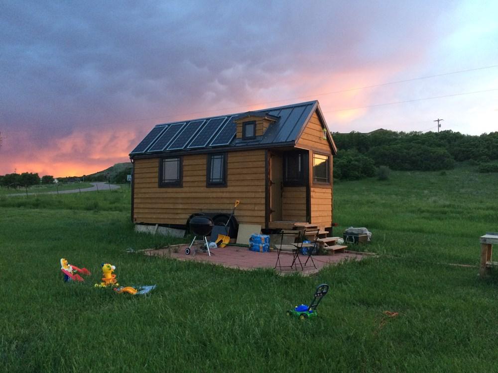 Solar Powered Tiny House On Wheels