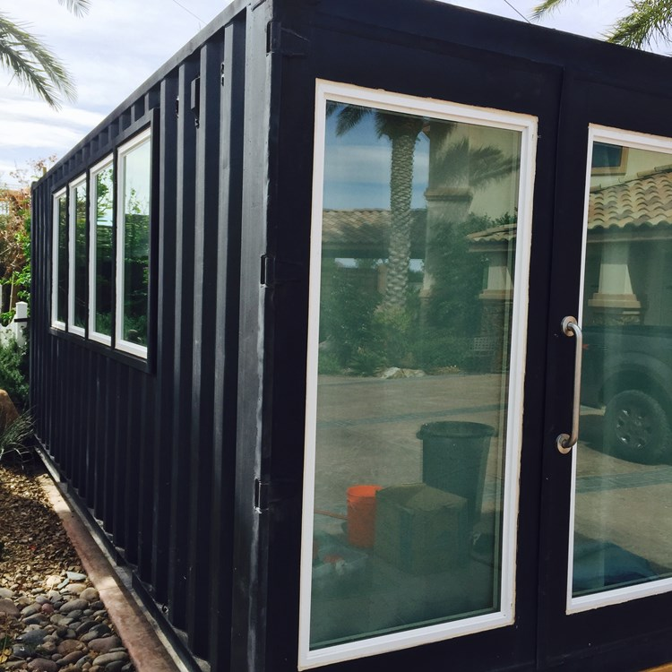 Tiny House for Sale - Modern Shipping Container Tiny Home