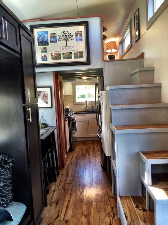 Tiny House For Sale Big Fam Double Tiny House Sleeps