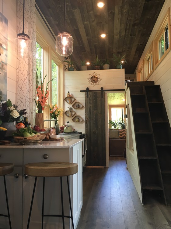 Modern and Spacious, featured on Tiny House Nation