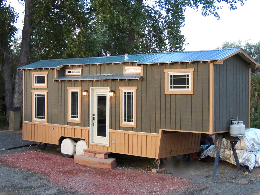 Tiny House for Sale 32 FT Turnkey Fifth wheel Gooseneck