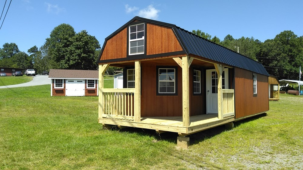 Tiny House For Sale Deluxe Lofted Barn Cabin