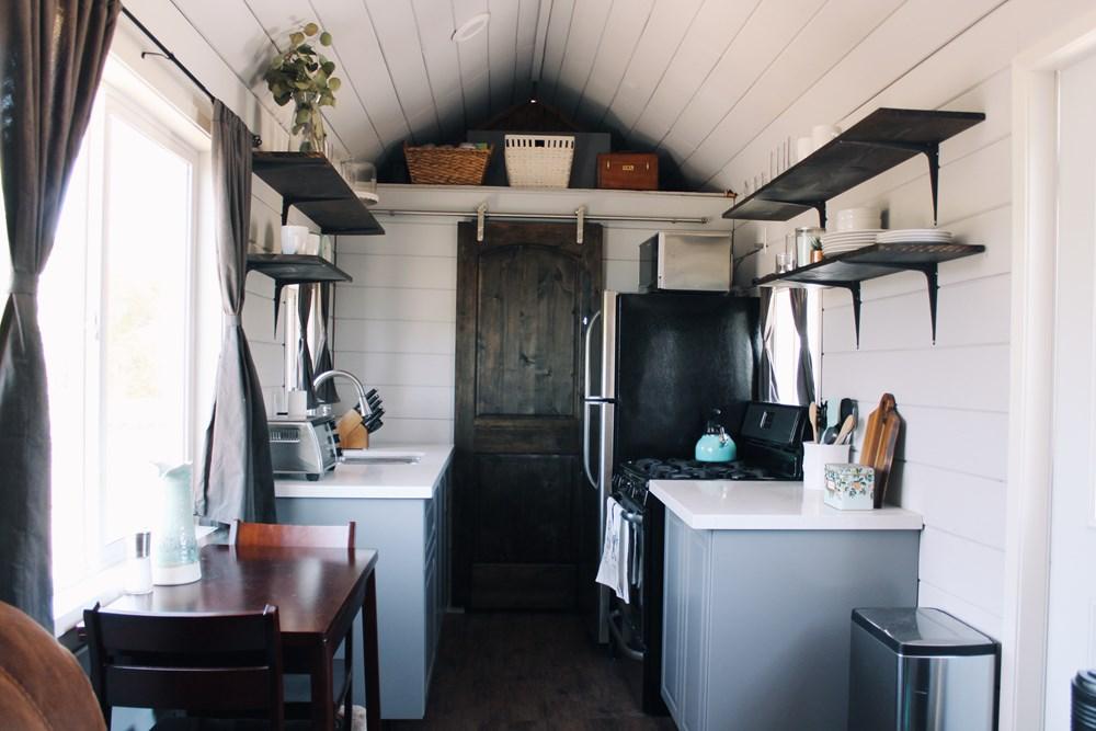 Camper Shower Storage