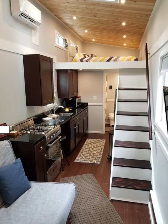 Modern and Professionally Built Tiny House!  RVIA Certification!!  2