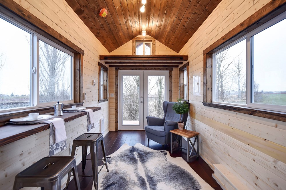 Tiny House for Sale - Metal Frame 24ft Tiny home