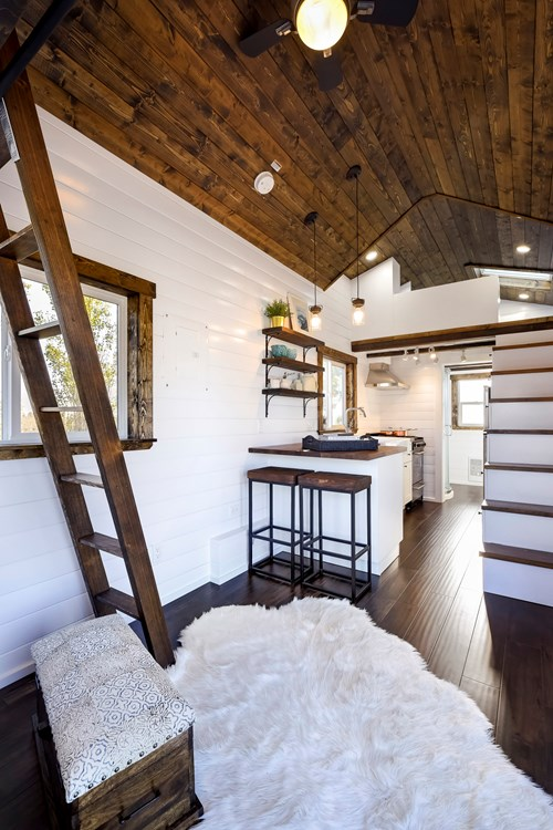 Tiny House For Sale 26ft Tiny Home With Split Pitch Roof