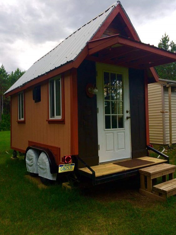 Tiny House For Sale 18 Ft Tiny House On Wheels For Sale
