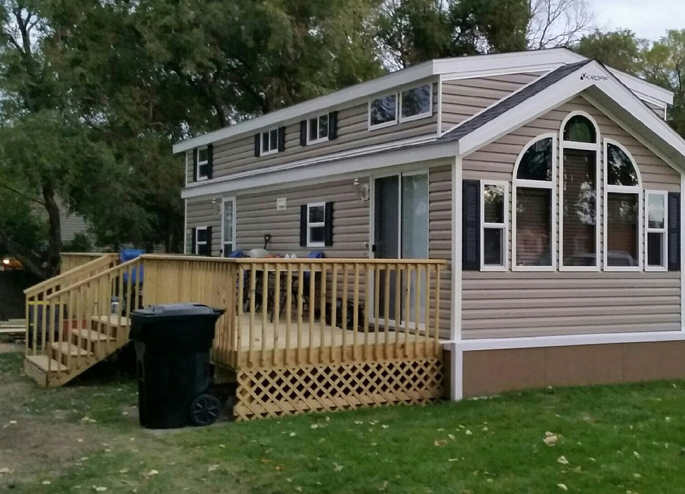 Tiny House For Sale Kropf Island Series Model 4787