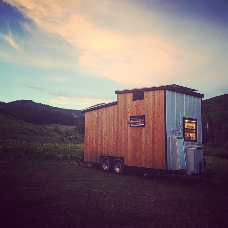 REDUCED! The Tiny Solar House - Solar Powered With Battery Backup For On & Off-Grid Living