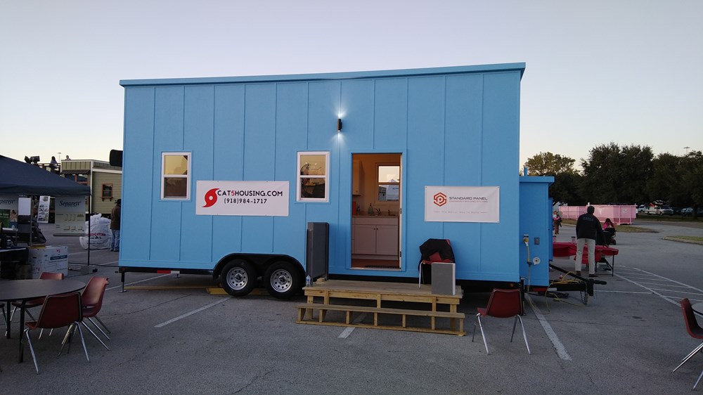 Super Light All Composite Tiny House Only 5280 Pounds!