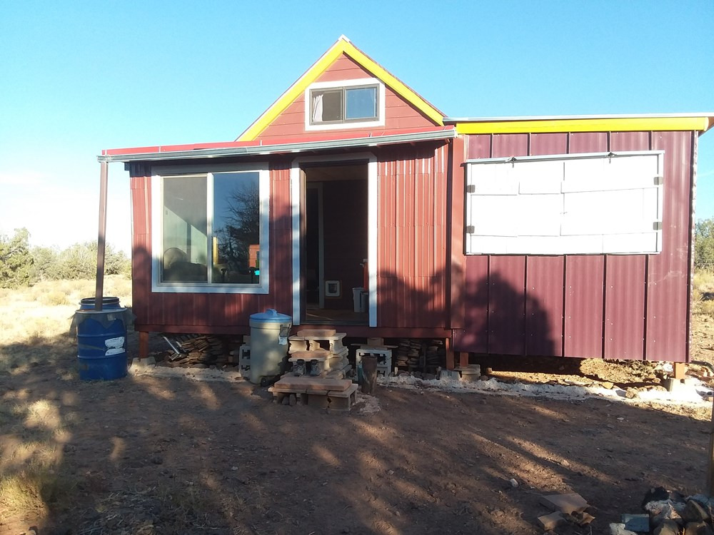 Tiny house on 20 acres of off-grid land - northern Arizona ($55,000) 1