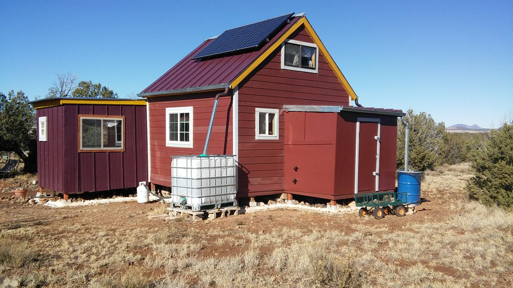 Tiny house on 20 acres of off-grid land - northern Arizona ($55,000) 3