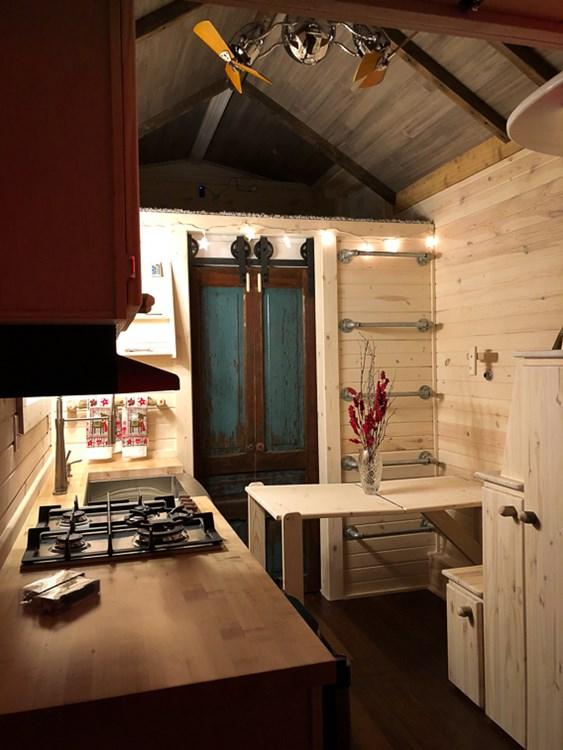 Tiny House For Sale Charming Reclaimed Barnwood Custom