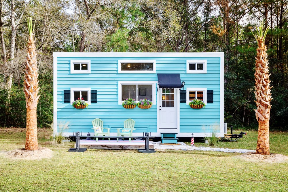 FEATURED ON DIY TV, Charlestonian Dream, 320 sf Tiny House. Land not included.