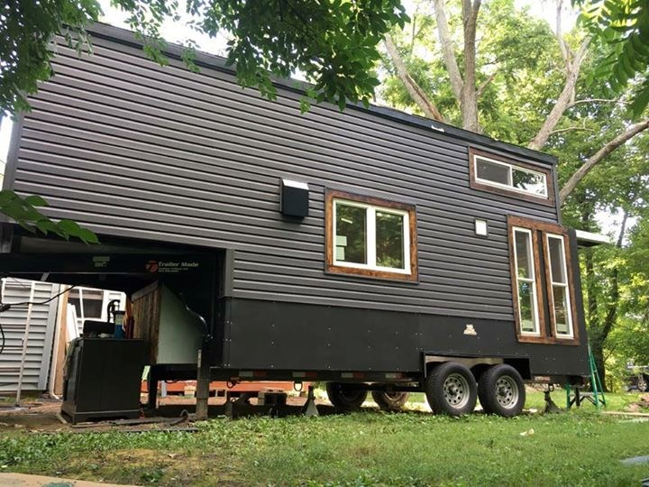 Tiny Home Designs: 25' Unfinished Gooseneck Tiny House