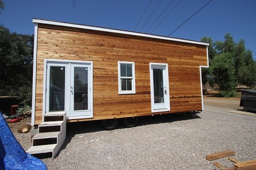 Modern Caravan Tiny House 9 X 24 378 Sq Ft Professionally Built On Trailer W