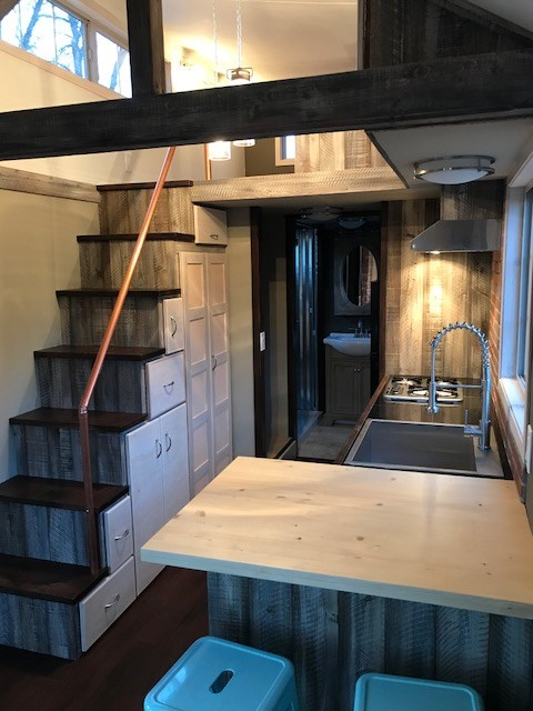 Tiny House For Sale Rustic Elegance