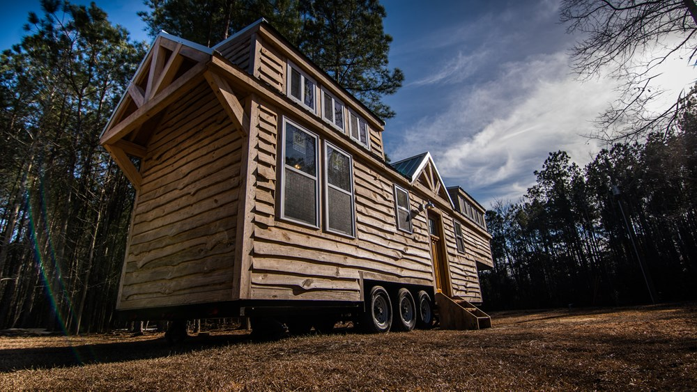 Rustic Goosneck Tinyhouse 39ft 2