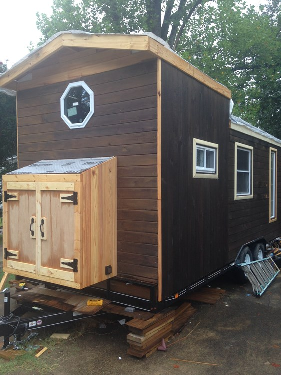 8.5 x 20 Tiny house shell