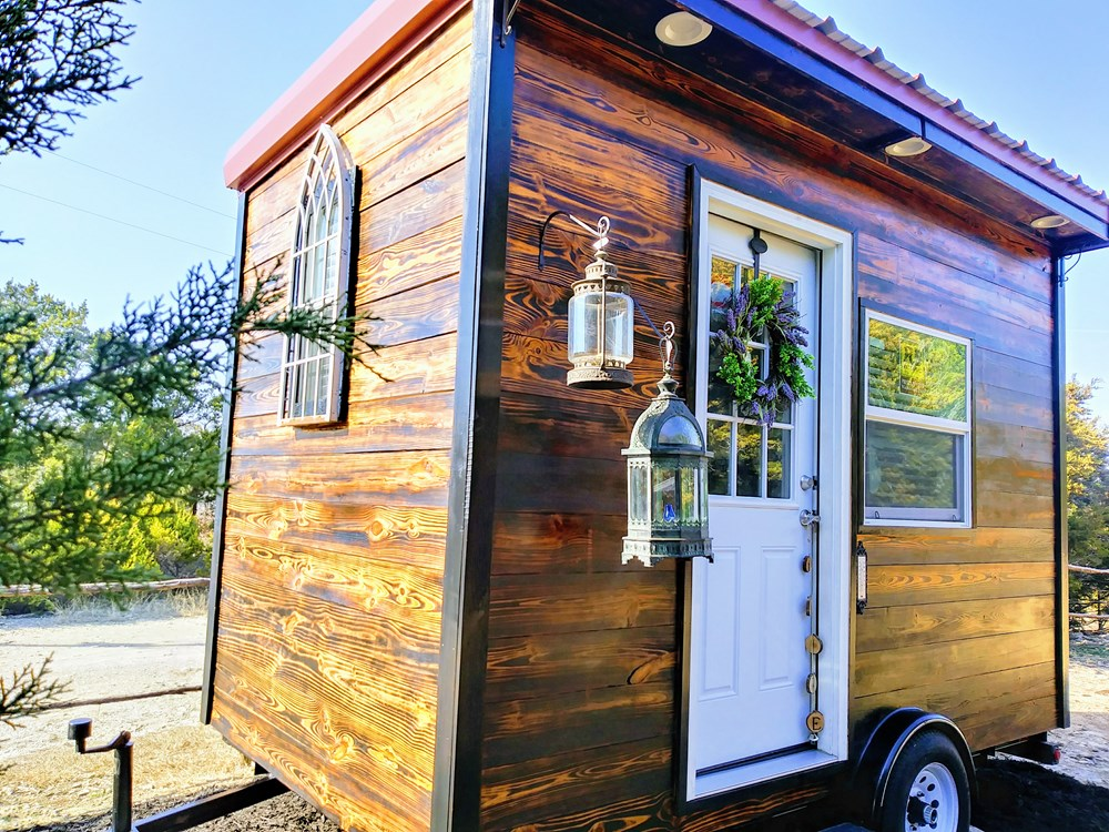 Wanderlust the modern rustic TINY HOUSE ON WHEELS