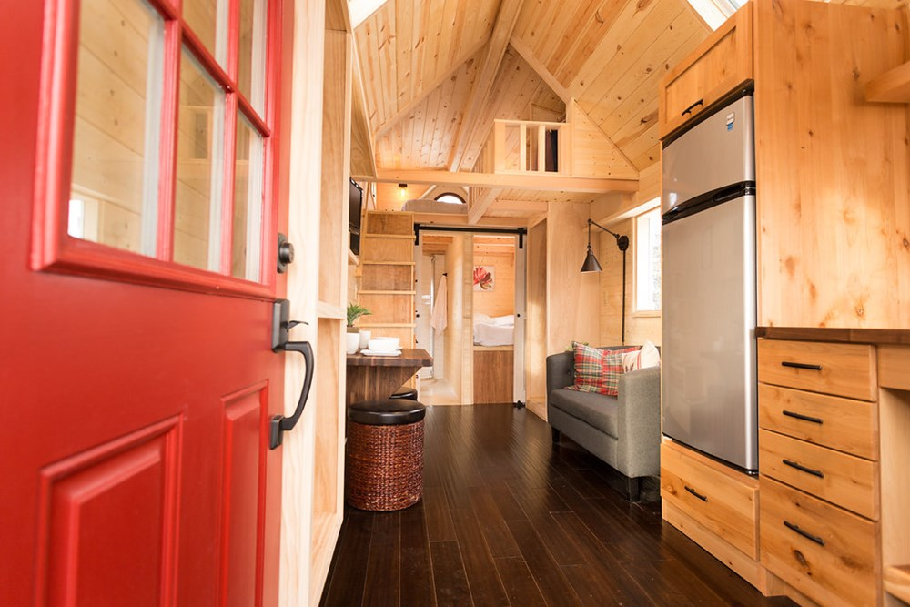 Porchlight from Hideaway Tiny Homes 2