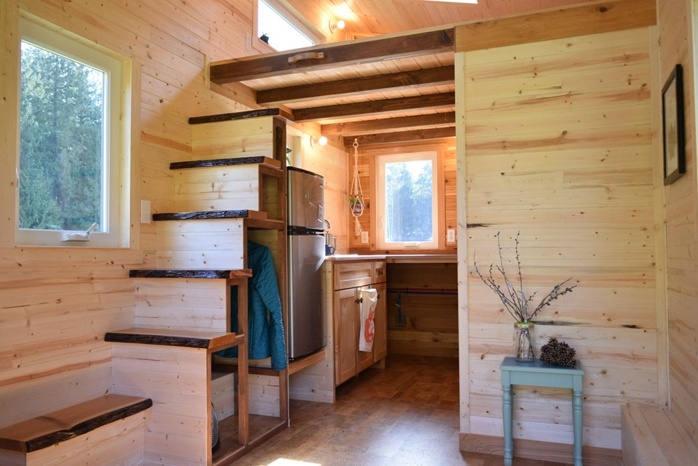 Tiny House for Sale - 16' Tiny House on Wheels on tiny log cabin home on wheels, tiny cottages on wheels, tiny cottage plans, tiny houses,