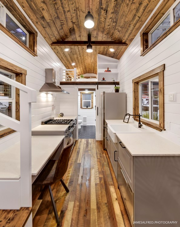 Rustic Meets Luxury 30ft Loft Edition