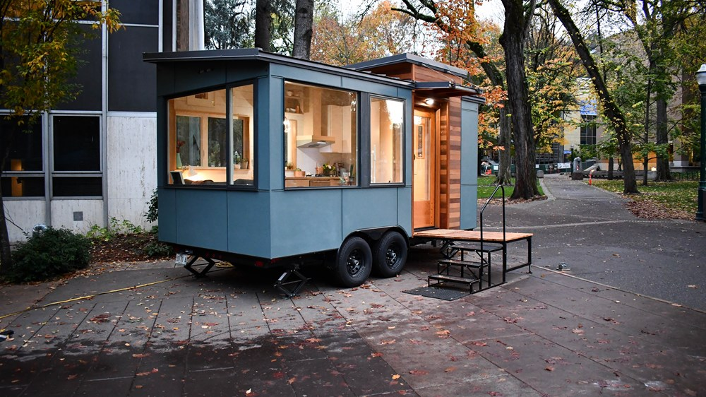 Modern Tiny Home On Wheels
