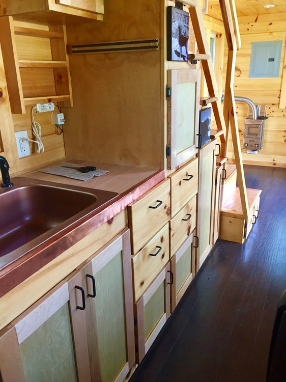 Custom Cider Box Tiny House 7