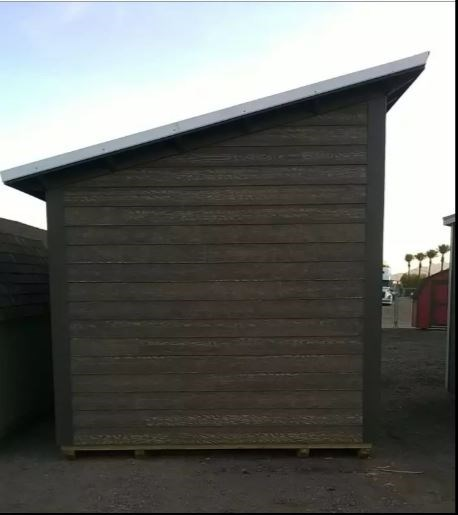 10' x 20' Tiny house shell, Studio, Casita or Office 8 FT , 2 x 6 walls with Raised Ceiling 5