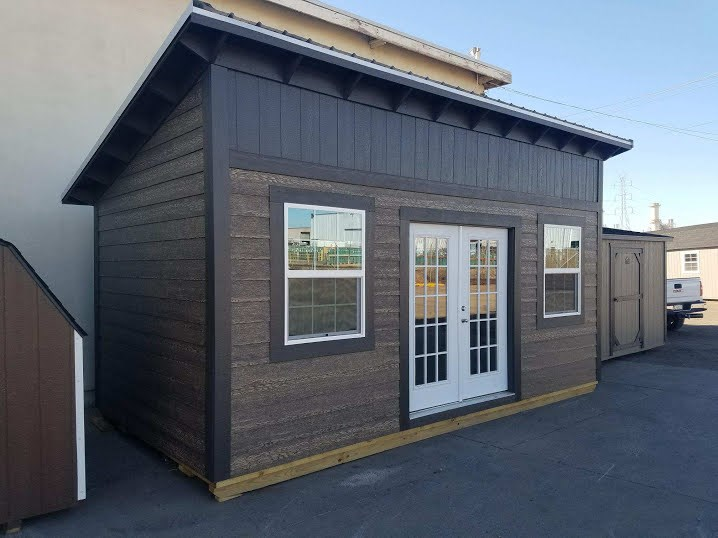 10' x 20' Tiny house shell, Studio, Casita or Office 8 FT , 2 x 6 walls with Raised Ceiling 9