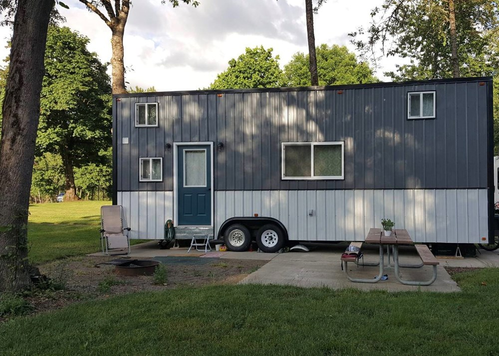 Simply Modern Tiny House On Wheels
