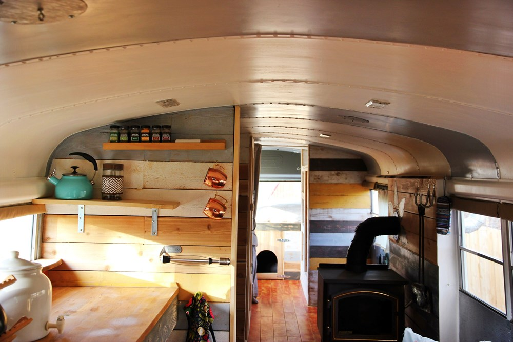 Tiny House for Sale - School Bus Converted to Amazing Tiny