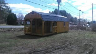 Old Hickory Buildings 12'x28' Deluxe Play House