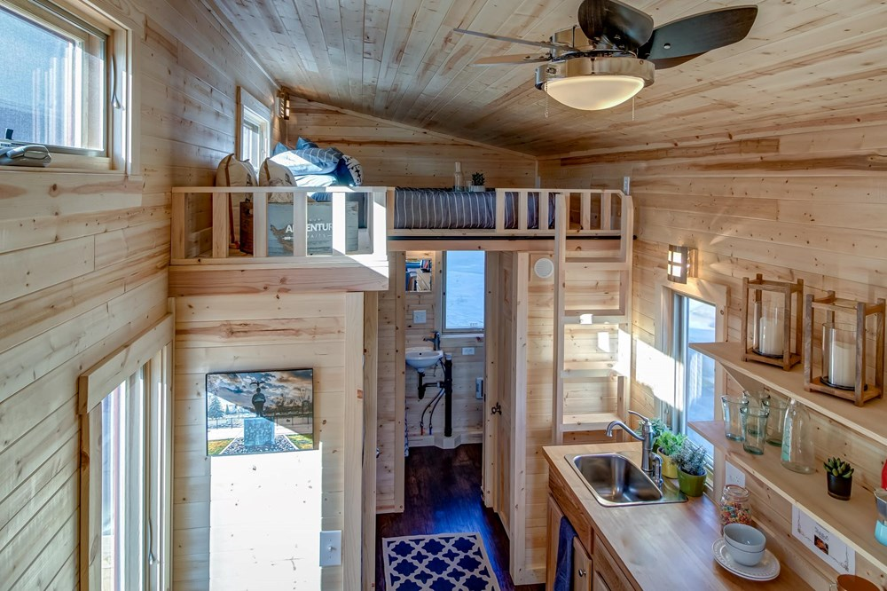 BRAND NEW 26-Foot Tumbleweed Roanoke Double Lofted Tiny House 10